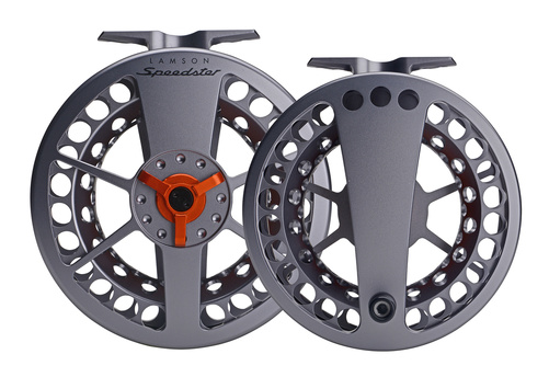 Lamson Speedster Flugrulle Grey/Orange 1,5