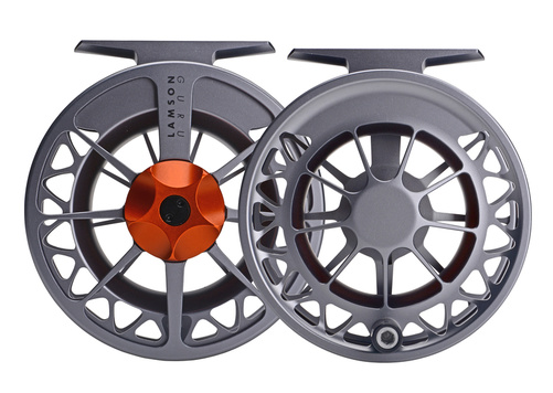 Lamson Guru Flugrulle Series II Grey/Orange 1,5