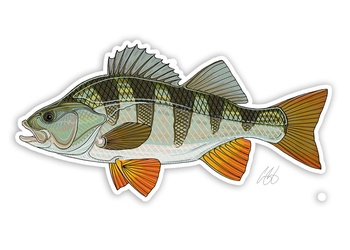 Perch Sticker - Casey Underwood