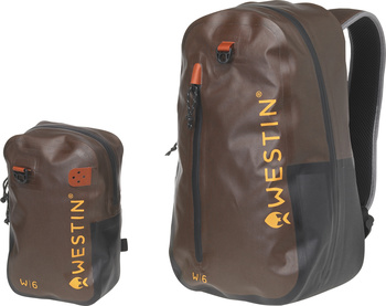 Westin W6 Wading Backpack & Chestpack Grizzly Brown/Black