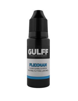 Gulff Clear Resin Flexman 15ml clear