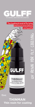 Gulff Clear Resin Thinman 15ml clear