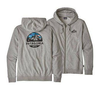 Patagonia M's Fitz Roy Scope Lightweight Full-Zip Hoody Feather Grey