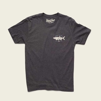 Howler Bros T-Shirt Silver King HTC Charcoal