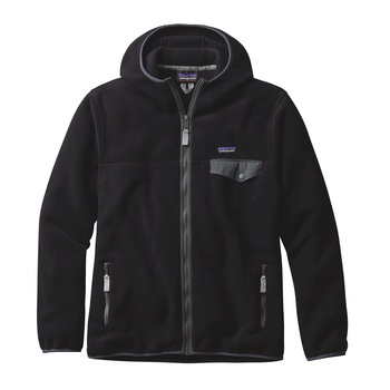 Patagonia Men's Lightweight Synchilla® Snap-T® Fleece Hoody Black