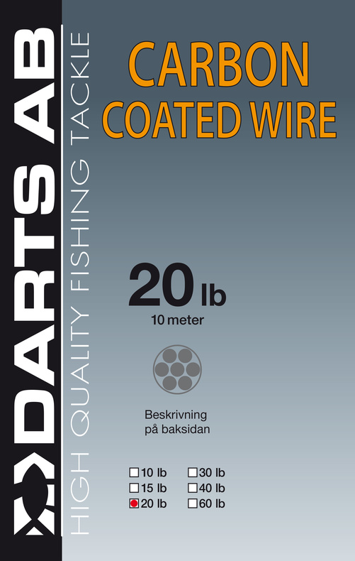Darts Carbon Coated Wire 10lb