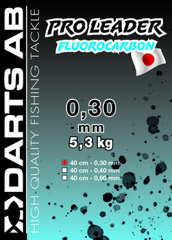 Darts Fluorocarbon Tafs 2-pack