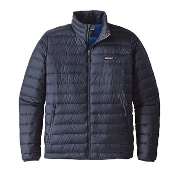 Patagonia Men's Down Sweater Jacket Navy Blue w/ Navy Blue