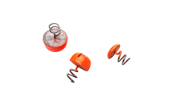 Svartzonker Screw in Dots Lead Fl. Orange 3-pack