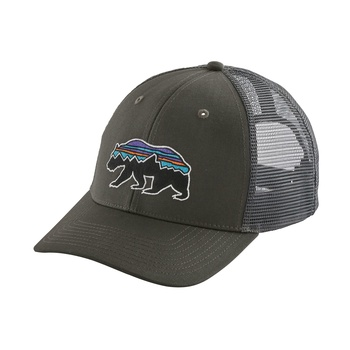 Patagonia Fitz Roy Bear Trucker Keps Forge Grey