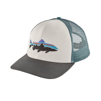 Patagonia Fitz Roy Trucker keps White w/Forge Grey