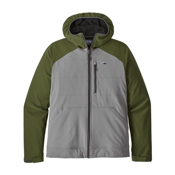 Patagonia Men's Snap-Dry Hoody Feather Grey