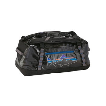 Patagonia Black Hole Duffel 60L Black w/Fitz Trout