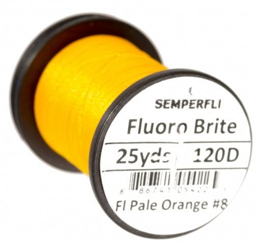Semperfli Fluoro Brite - Pale Orange