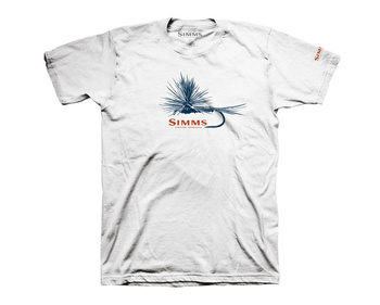 Simms T-Shirt Adams Fly White