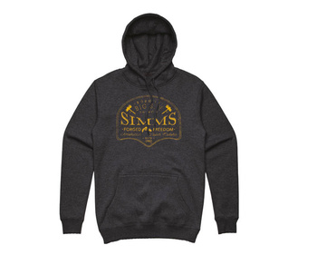 Simms Big Sky Hoody Charcoal Heather