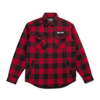 Hooke Canadian Shirt Red & Black Hooke Patch