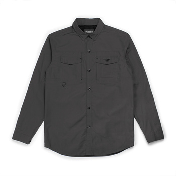 Hooke Fisherman Shirt Grey