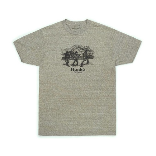 Hooke Big Mountain T-Shirt Army Snow S