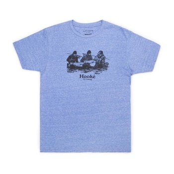 Hooke Double Header T-Shirt Royal Snow