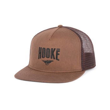 Hooke Original Trucker Hat Caramel & Brown