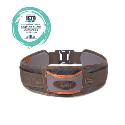 Fishpond West Bank Wading Belt - Stone