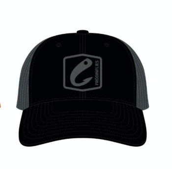 Frödin BLACK/STEEL GREY LOGO TRUCKER HAT