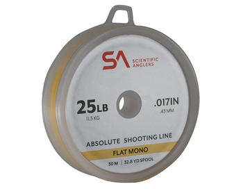 SA Absolute Shooting Line Flat Mono 25lb 30m Yellow