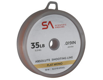 SA Absolute Shooting Line Flat Mono 35lb 30m Orange