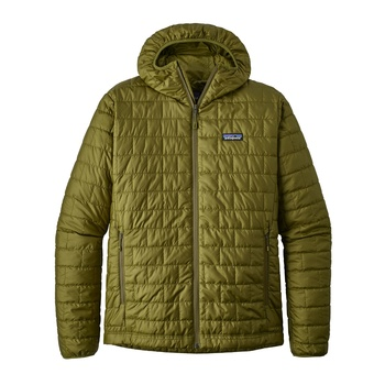 Patagonia M's Nano Puff Hoody Willow Herb Green
