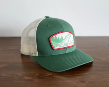 Casey Underwood - Riffle Rider Trucker Green