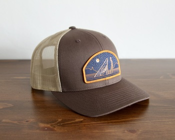Casey Underwood - Star Sipper Trucker Keps Brown