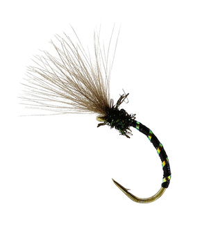 Midge Flash Emerger Black TMC212TR #15