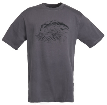 Guideline Angry Salmon ECO T-shirt Charcoal