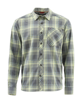 Simms Outpost Shirt Storm Plaid