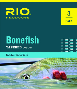 Rio Bonefish Leader 10ft 3 pack