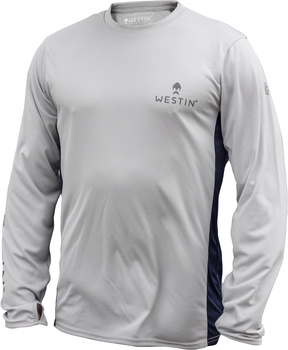 Westin Pro UPF Long Sleeve Grey/Navy Blue