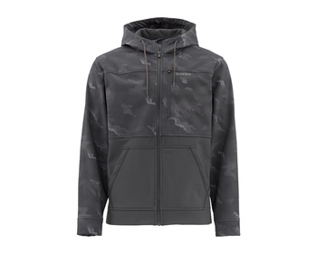 Simms Rogue Hoody Hex Camo Carbon