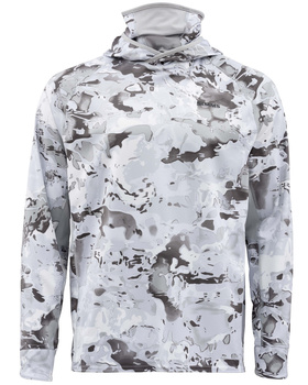Simms SolarFlex UltraCool Armor Cloud Camo Grey
