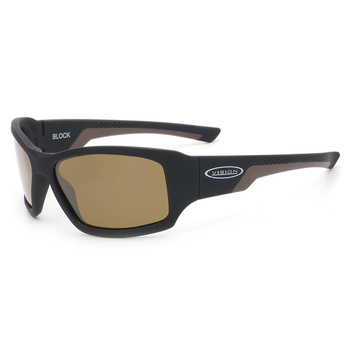 Vision Block Sunglasses Brown