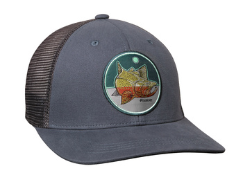 Sage Patch Trucker Blue Rainbow Trout OneSize