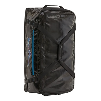 Patagonia Black Hole® Wheeled Duffel Bag 100 Black w/Fitz Trout