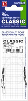 Dragon Invisible Fluorocarbon Tafs 20kg Classic 2-pack