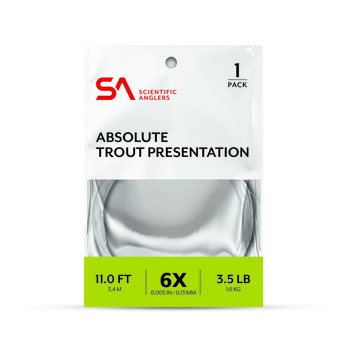 SA Absolute Trout Presentation Leader 11' & 14'