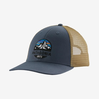 Patagonia Fitz Roy Scope LoPro Trucker Hat Dolomite Blue