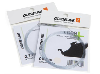 Guideline Egor Fluorocarbon Taperad Tafs 12' 4X - 0,185mm