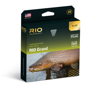 RIO Elite Grand Fluglina Flyt Green/Yellow/Gray