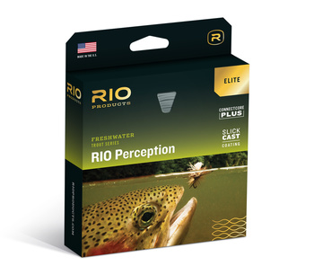 RIO Elite Perception Fluglina Flyt Green/Camo/Grey