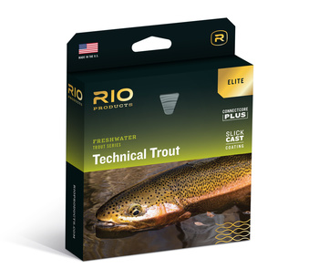 RIO Elite Technical Trout  Fluglina Flyt Sky Blue/Peach/Gray