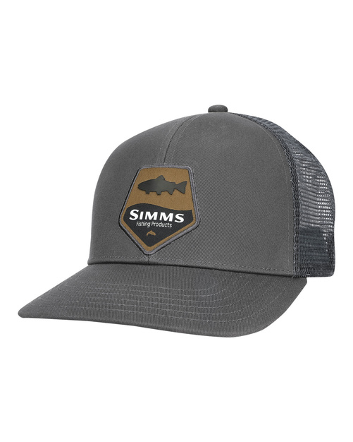 Simms Trout Patch Trucker Carbon